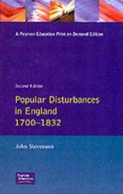 Popular Disturbances in England 1700-1832 by John Stevenson image
