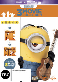 Minions/ Despicable Me/ Despicable Me 2 on DVD image