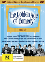 Golden Age Of Comedy, The (6 Disc Box Set) on DVD