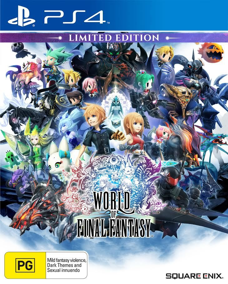 World of Final Fantasy Limited Edition screenshot