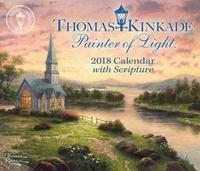 Thomas Kinkade: Painter of Light 2018 Desk Calendar by Thomas Kinkade