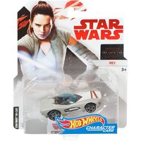 Hot Wheels: Star Wars Character Car - Rey