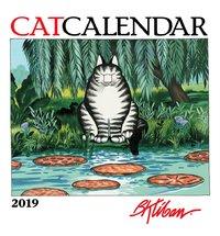 B.Kilban Cat 2019 Mini Wall Calendar