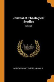 Journal of Theological Studies; Volume 3 by Ingentaconnect