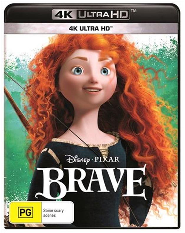 Brave (4K UHD) on UHD Blu-ray