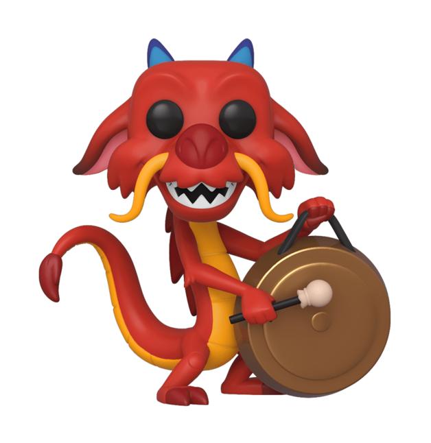 Disney's Mulan: Mushu (with Gong) - Pop! Vinyl Figure