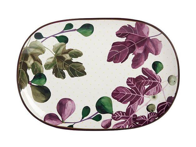 Maxwell & Williams: Fig Garden Oblong Platter - 40cm