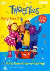 Tweenies Song Time is Fab-a-Rooney / Song Time 2 on DVD