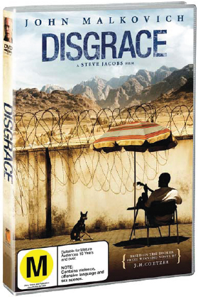 Disgrace on DVD image