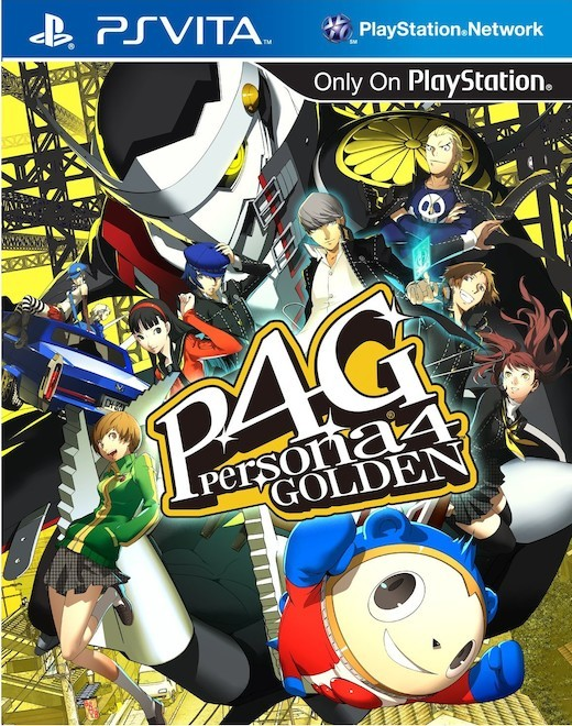 Persona 4 Golden for PlayStation Vita image