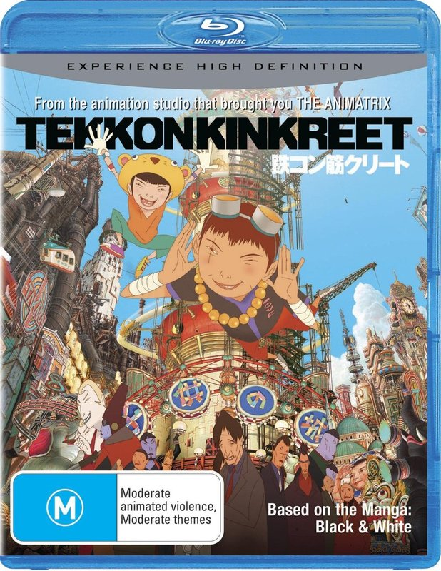Tekkonkinkreet on Blu-ray