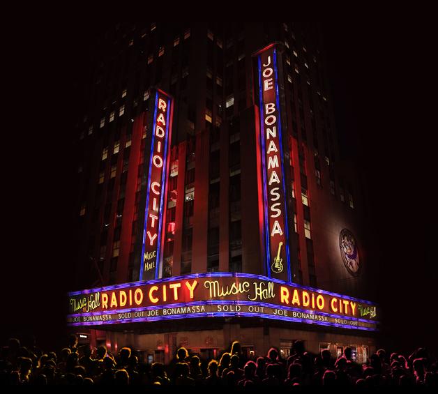 Live At Radio City Music Hall (CD/Blu-Ray) by Joe Bonamassa