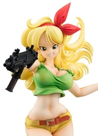 Dragon Ball Gals: Launch (Blonde Ver.) - PVC Figure