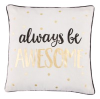 Metallic Monochrome Awesome Cushion