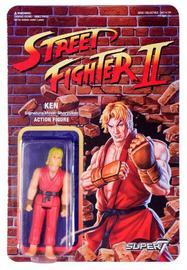 """Street Fighter II: Ken - 3.75"""" Retro Action Figure"""