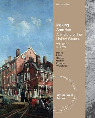 Making America: v. 1 by Carol Berkin image