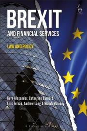 Brexit and Financial Services by Catherine Barnard