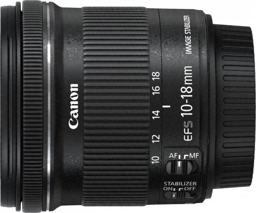 Canon: EF-S 10-18mm f/4.5-5.6 IS STM EF-S Mount Lens