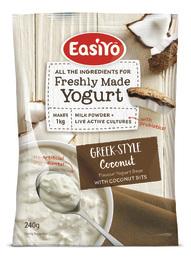 EasiYo Greek-Style Coconut & Bits