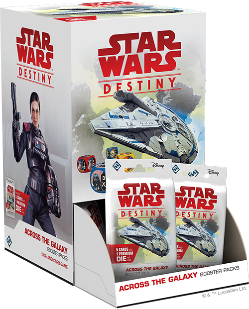 Star Wars Destiny: Across the Galaxy Booster Box image