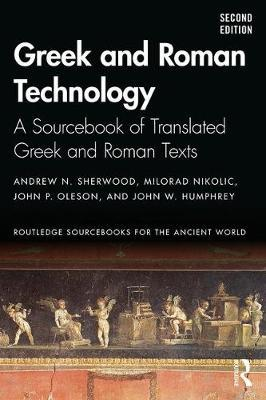 Greek and Roman Technology by Andrew N Sherwood image