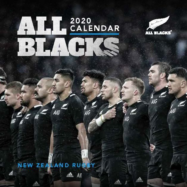All Blacks 2020 Mini Wall Calendar