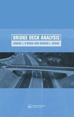 Bridge Deck Analysis by Eugene J. O'Brien image