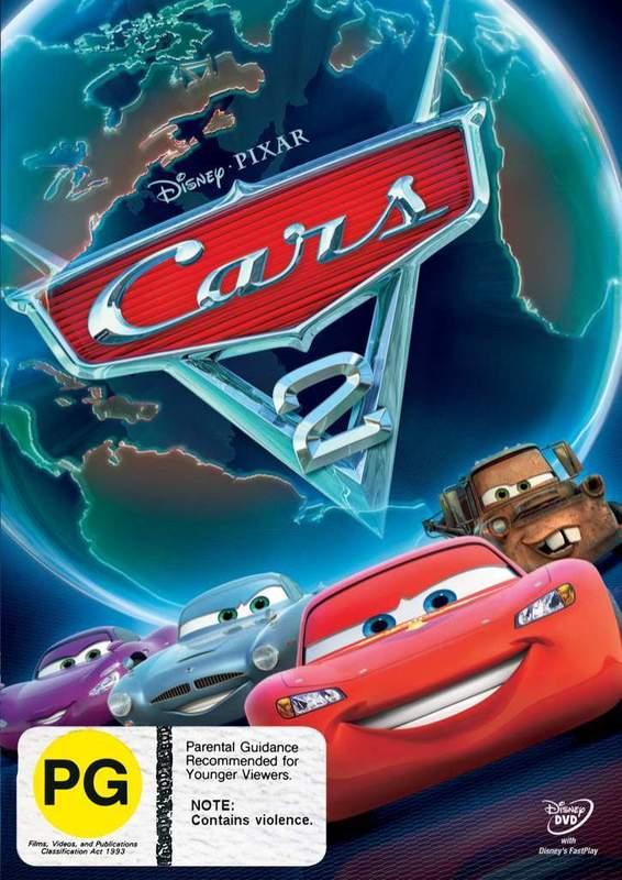Cars 2 on DVD