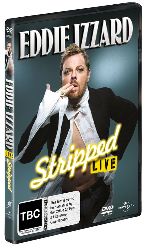 Eddie Izzard - Stripped on DVD