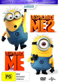 Despicable Me 2 / Despicable Me on DVD