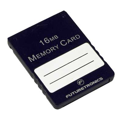 Futuretronics 16 MB Memory Card for PlayStation 2 image