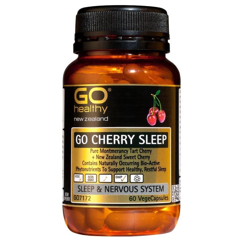 Go Healthy: GO Cherry Sleep (60 Capsules) image