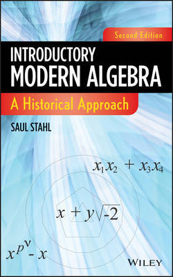 Introductory Modern Algebra by Saul Stahl image