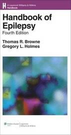 Handbook of Epilepsy by Thomas R. Browne image