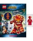 LEGO DC Super Heroes: Faster than Lightning! Activity Book with Minifigure by Ameet Studio (Firm)