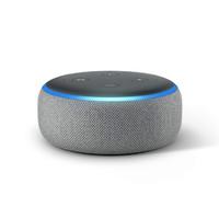 AMAZON Echo Dot - Smart speaker with Alexa - Heather Gray