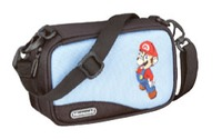 Mario Carry Case for Nintendo DS & GBA (Blue) for Nintendo DS image