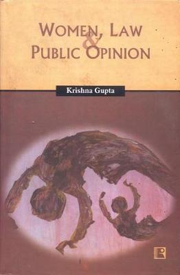 Women Law and Public Opinion by Krishna Gupta image