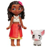 Disney's Moana: Young Moana Of Oceania & Pua- Small Doll Set image