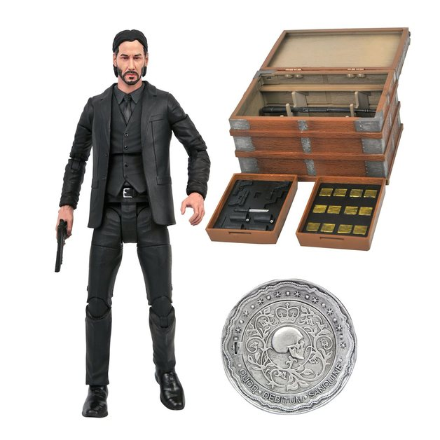 """John Wick - 7"""" Deluxe Action Figure Set"""