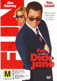 Fun with Dick and Jane on DVD image