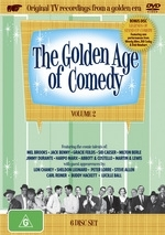 Golden Age Of Comedy, The - Vol. 2 (6 Disc Box Set) on DVD