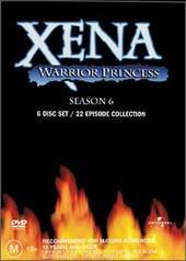 Xena - Warrior Princess: Season 6 Box Set (6 Disc) on DVD