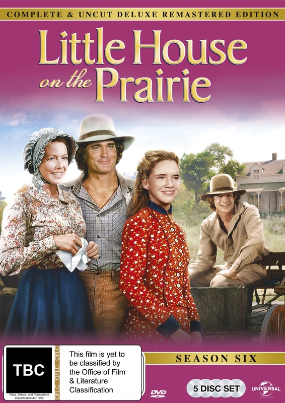 Little House On The Prairie - Season 6 (Remastered) on DVD