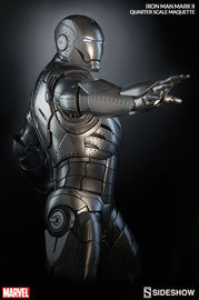 Iron Man - Mark II 1:4 Scale Maquette image