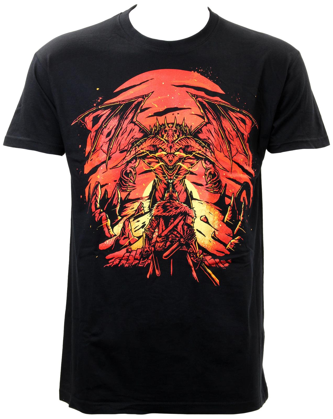 Dark Souls 3 Dragon T-Shirt (XX-Large) image