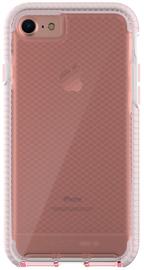 Tech21 Evo Check Case for iPhone 7 & 8 - Light Rose/White