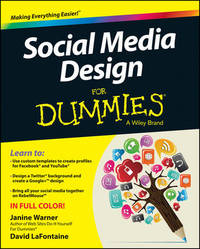Social Media Design For Dummies by Janine Warner