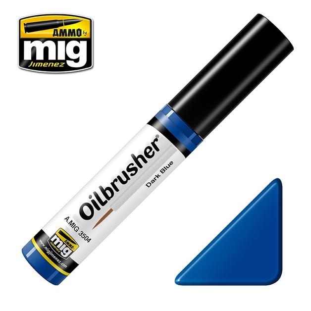 Ammo of Mig Jimenez: Oil Brusher - Dark Blue