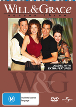 Will & Grace - Season 3 (4 Disc Set) on DVD